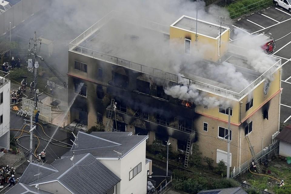 Число жертв при пожаре в Японии возросло до 23 человек