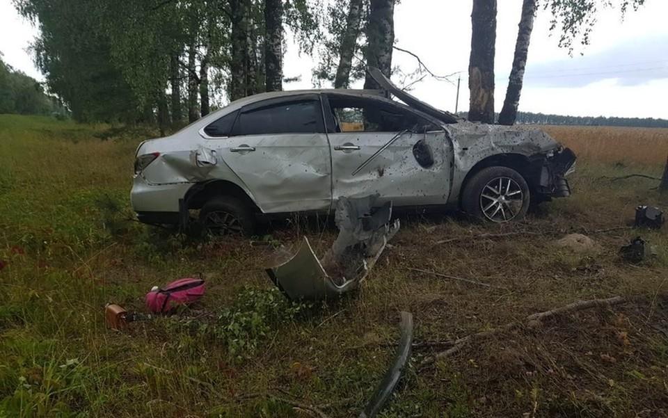 В ДТП пострадал 27-летний пассажир иномарки. Фото: УГИБДД по Брянской области