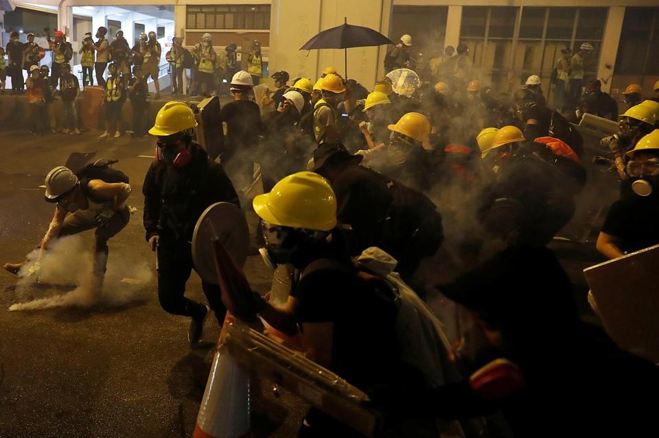 В Гонконге прошли массовые демонстрации протеста
