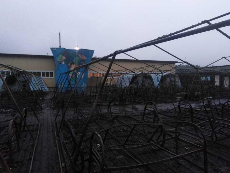В Хабаровском крае расследуется уголовное дело по факту пожара на Холдоми