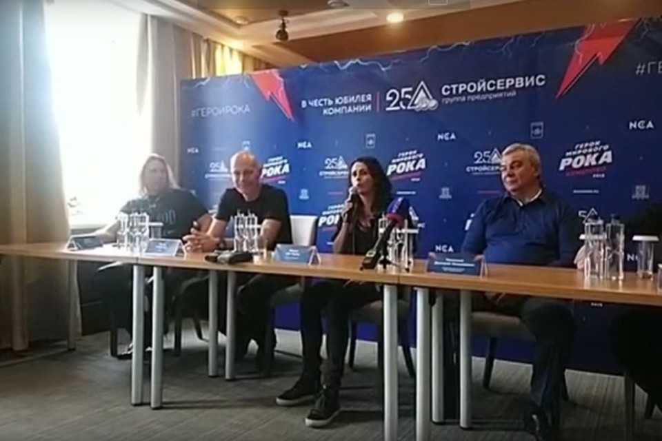 Гитарист группы Accept пообещал спеть отрывок из гимна России на русском