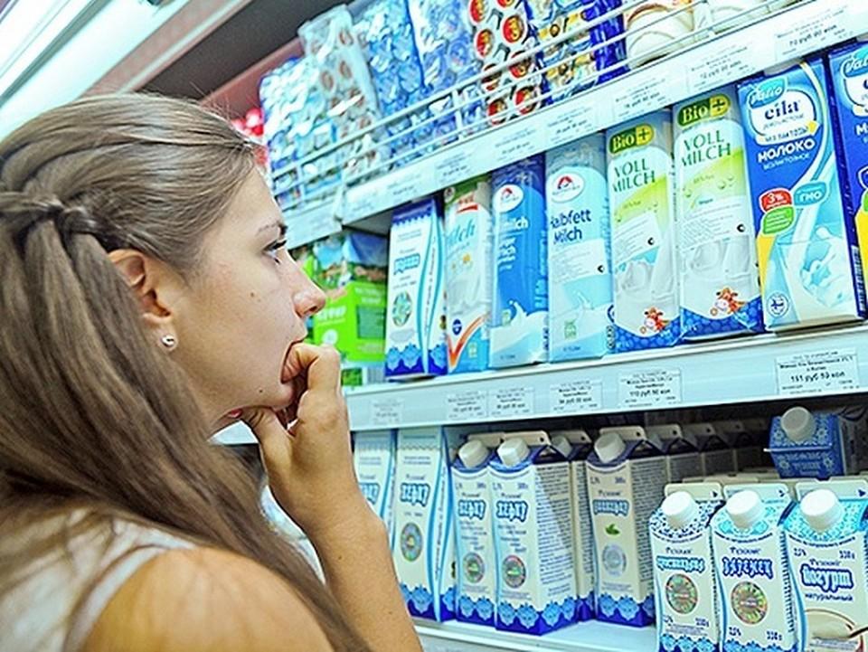 Роспотребнадзор может штрафовать магазины за нарушение правил расположения молока и молочной продукции
