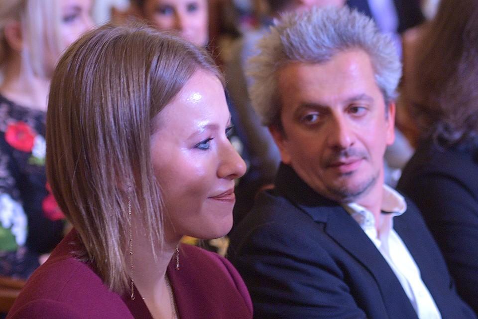 Ксения Собчак и Константин Богомолов.