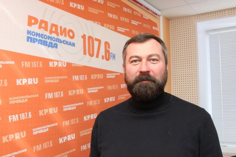 """Директор """"Парков Ижевска"""" Сергей Буторин"""