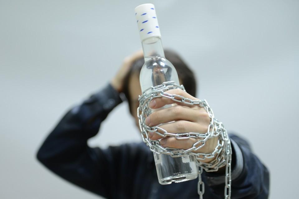 Составлен рейтинг регион по числу пациентов с алкогольной зависимостью