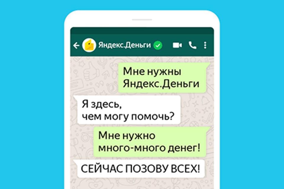 Пользователи сервиса Яндекс.деньги смогут обратиться в техническую поддержку через мессенджер WhatsApp.