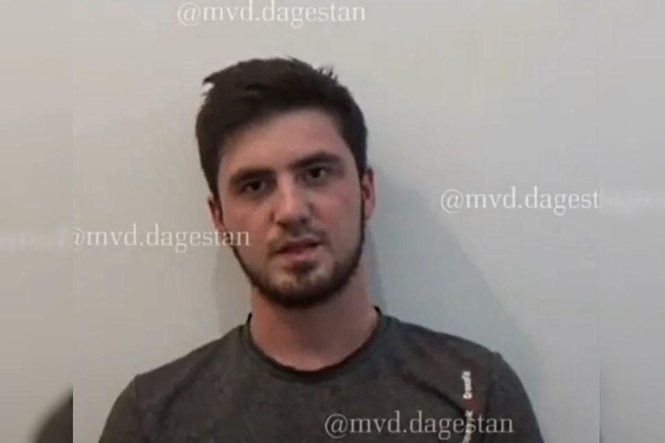 Скрин-фото: видео МВД Дагестана