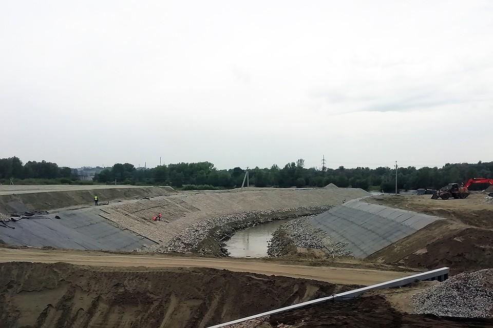 Строительство обводного канала