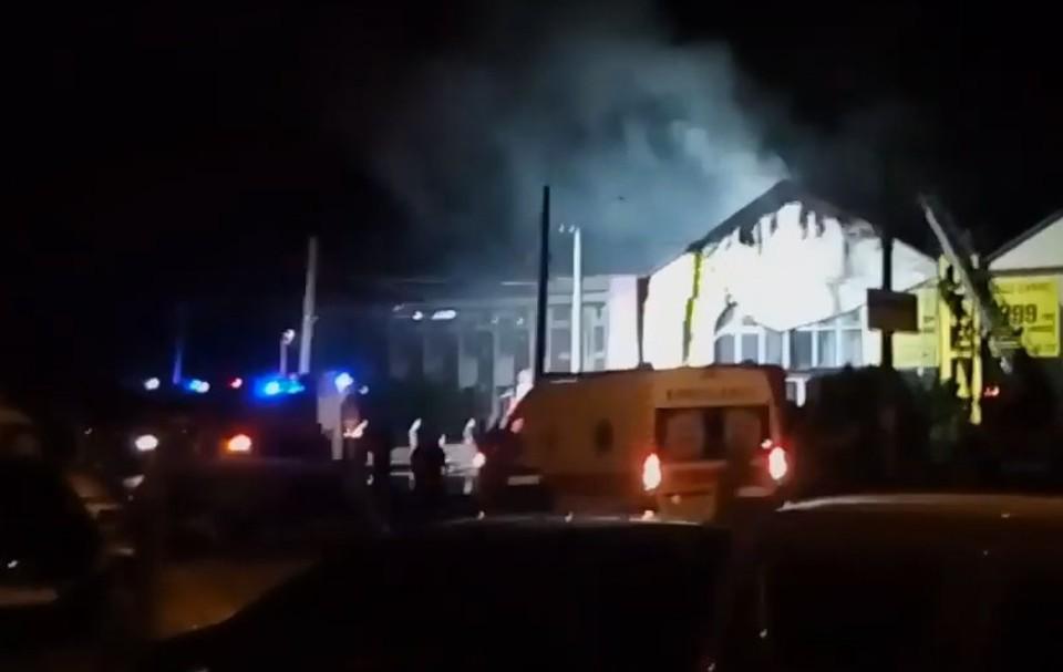 Пожар в отеле Одессы: погибли восемь человек
