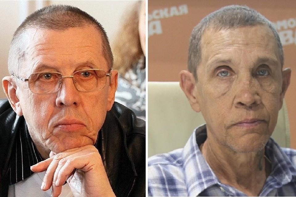 Между двумя Золотухиными есть определенное сходство. Фото: Олег УКЛАДОВ / Станислав ШЕВЧЕНКО.