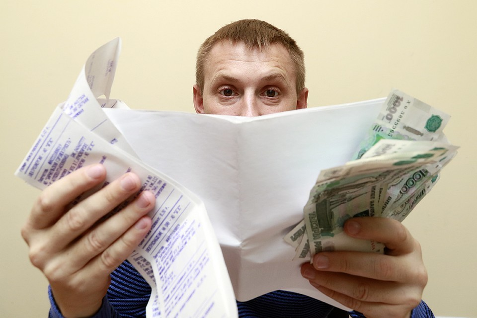 Долги россиян за коммуналку выросли до рекордных цифр