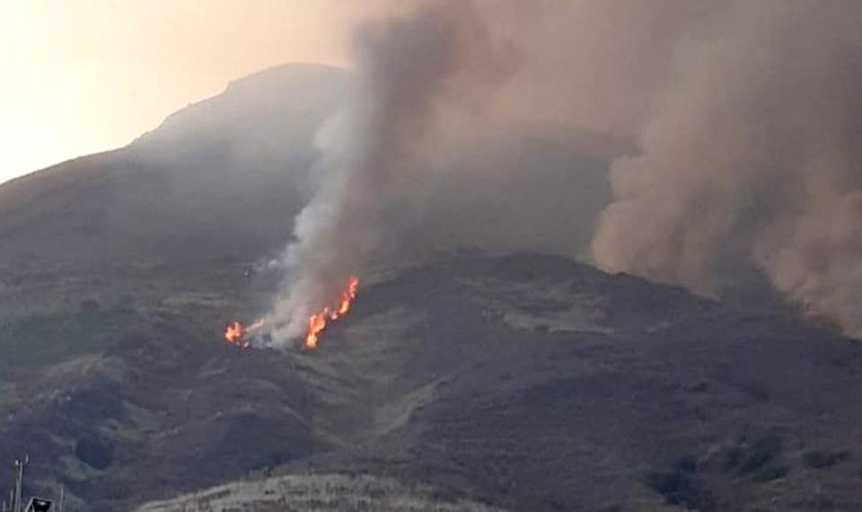 В Италии проснулся вулкан Стромболи.