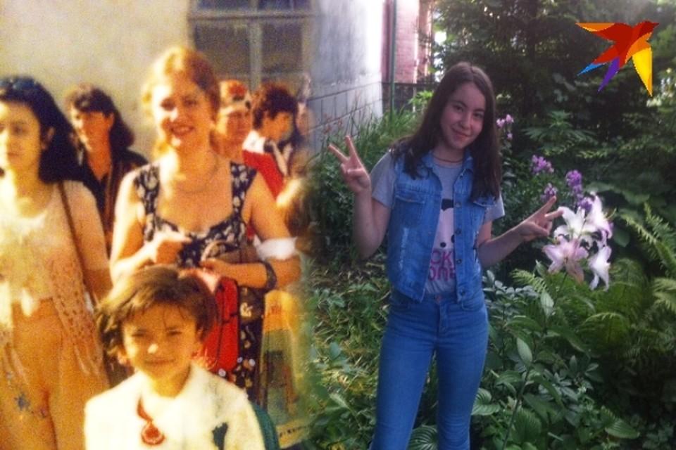 Погибшая Соня и родившаяся через 2 года после трагедии Настя. Фото: личный архив героев публикации