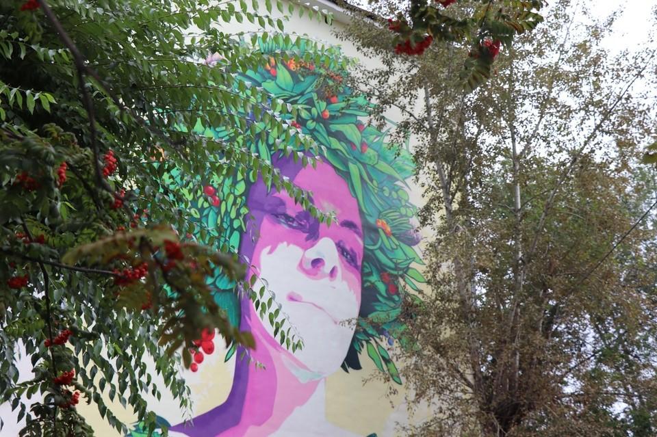 Уличные художники оживили фасады домов на Вавилова. Фото: группа Город Красноярск.