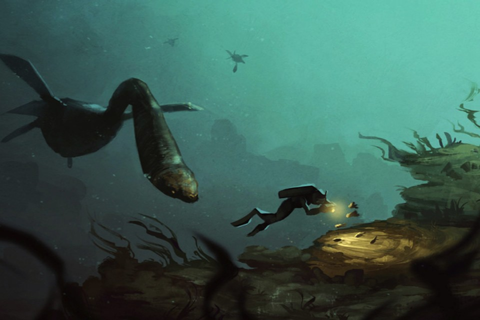"""На лох-несское чудовище ученые """"охотились"""" больше года."""