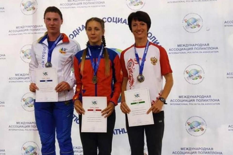 Ирина Свечникова из Красноярска в очередной раз стала чемпионкой мира по полиатлону ФОТО: с сайта ИА «Запад 24»