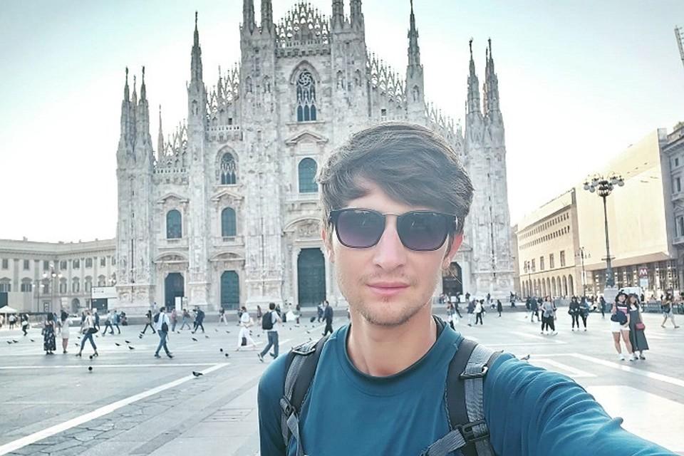 Все, я пошел: Молодой человек из Молдовы путешествует по Италии без еды и денег