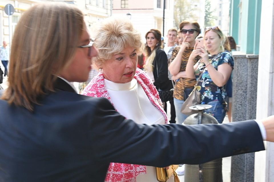 Нарусова не скрывает, что до сих пор не отошла от свадьбы дочери