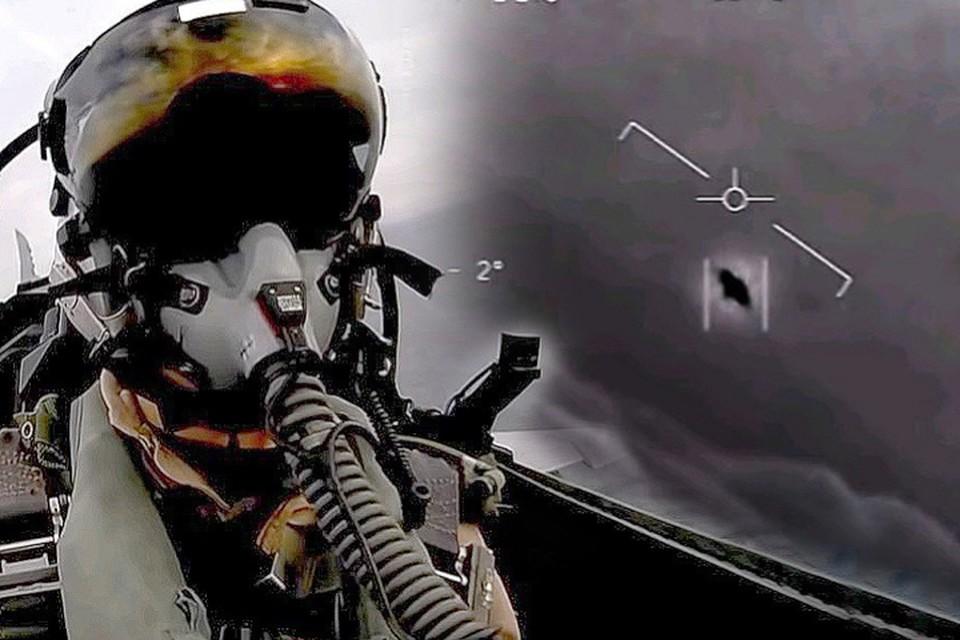 НЛО много раз сопровождали летчиков американских ВМС.