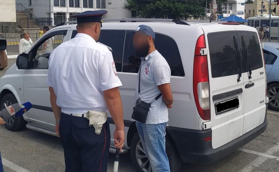 Суд признал его виновным в административном правонарушении. Фото: пресс-служба МВД по РК