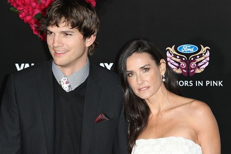 Большая разница в возрасте - целых 15 лет - моментально сделала Эштона и Деми самой популярной парой Голливуда.