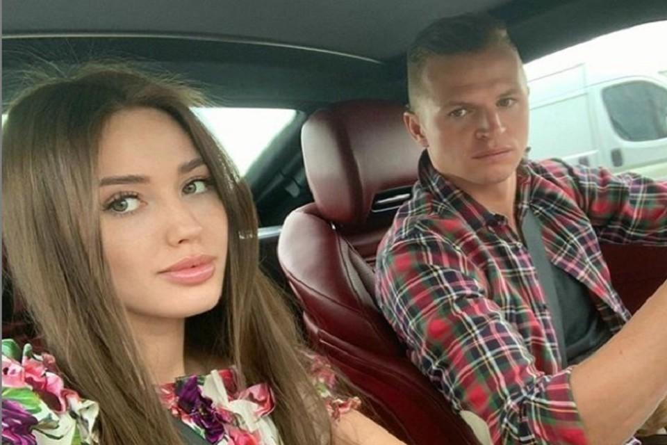 Анастасия Костенко - третья супруга футболиста. Фото: Instagram Дмитрия Тарасова