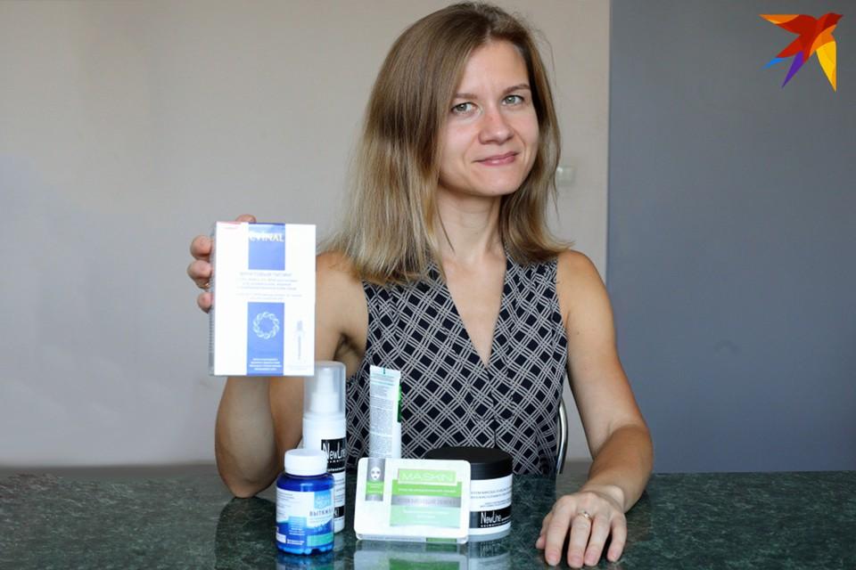 Сеть «Зеленых аптек» - предложил женской половине редакции испытать осенние новинки для сияющей кожи.