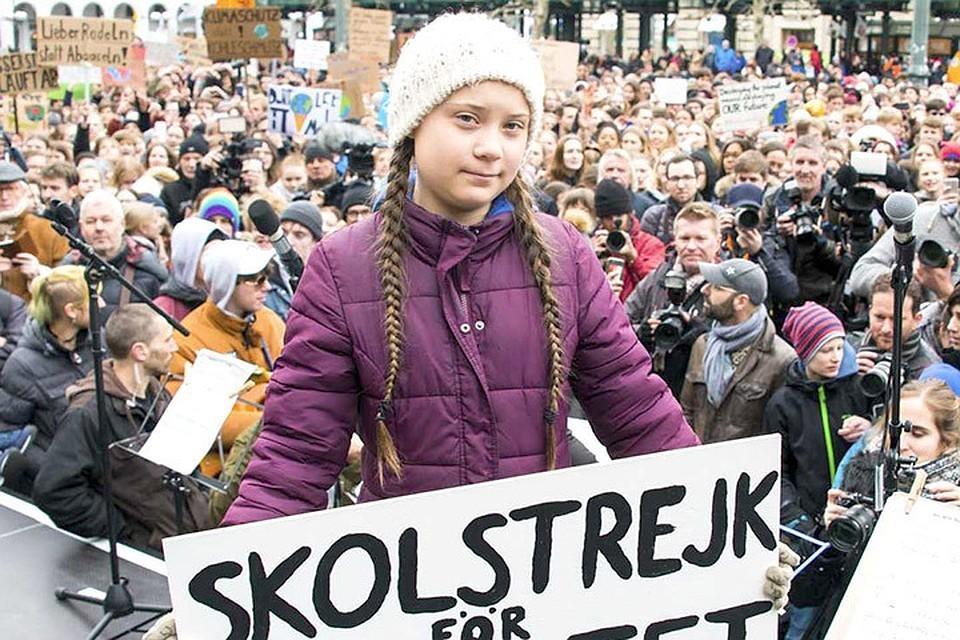 «Как вы смеете!»: Шведская эко-активистка Грета Тунберг обвинила политиков в украденном детстве