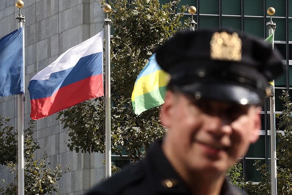 Открытие 74-й сессии Генассамблеи ООН в Нью-Йорке ознаменовалось скандалом: часть российской делегации осталась без американских виз. Фото: Валерий Шарифулин/ТАСС