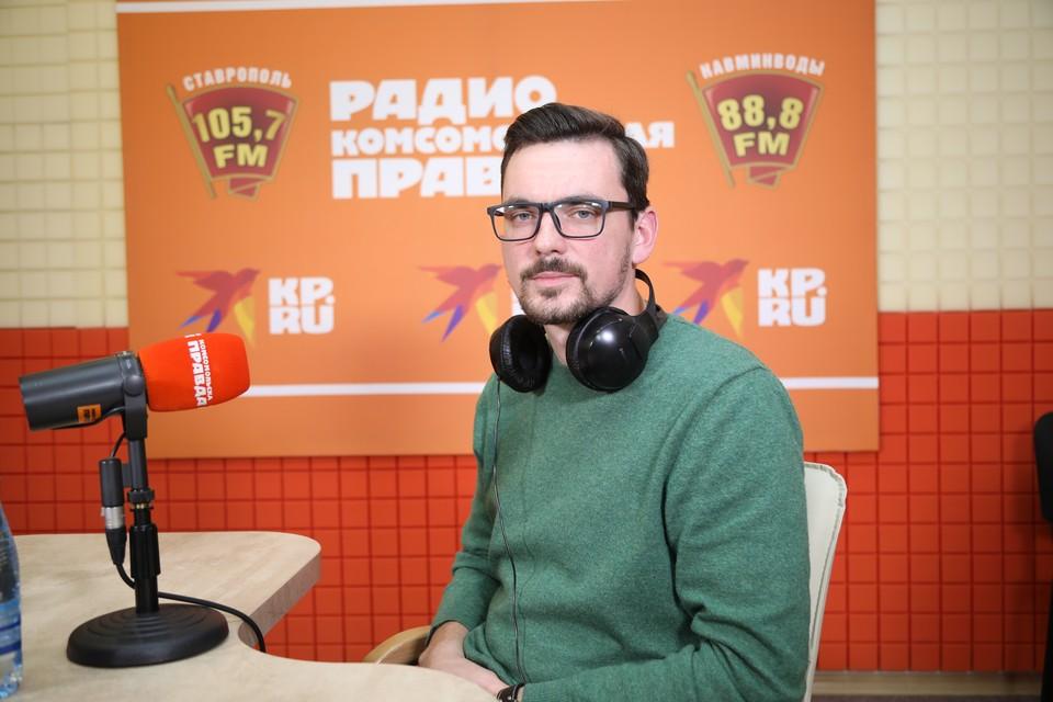 Врач отделения гнойной ортопедии СККБ Дмитрий Румянцев