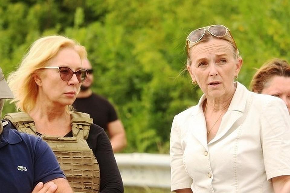 Ольга Кобцева рассказала об итогах Минска. Фото: Луганский информационный центр