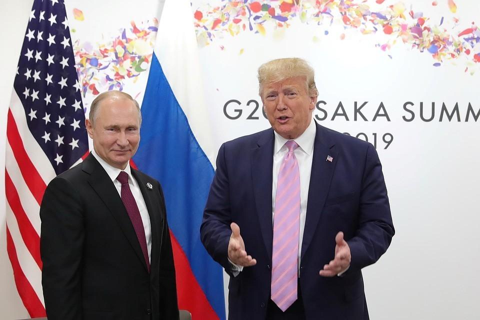 """""""Это было бы разумно!"""" Трамп обещал """"поладить"""" с Россией"""