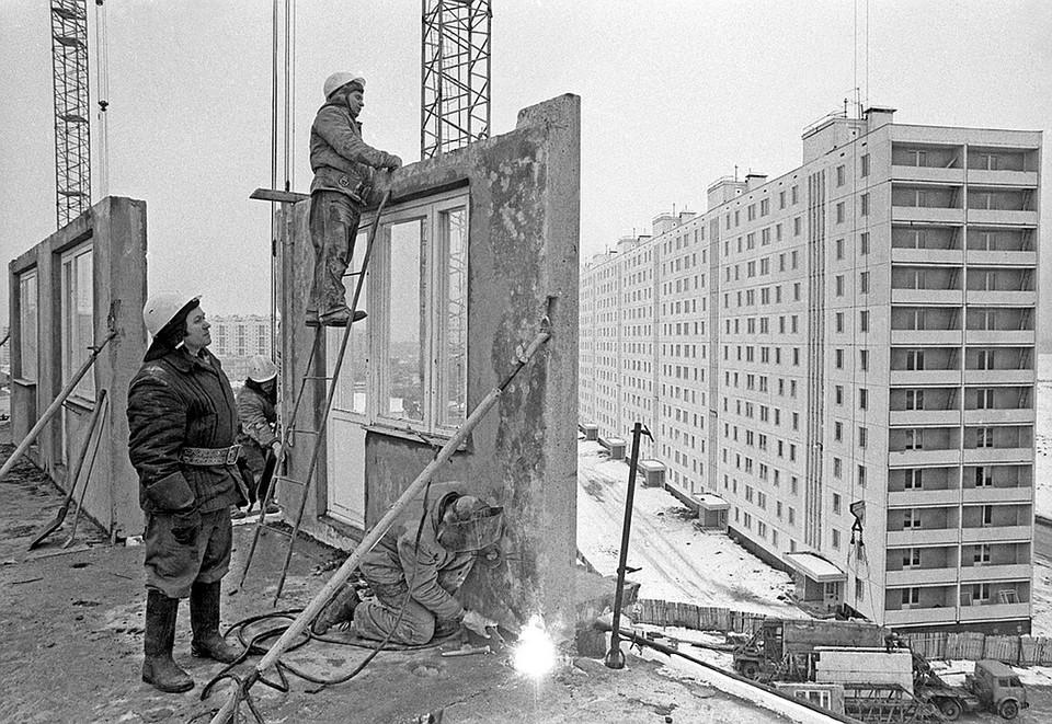 Перестройка началась в 1980-х. Фото Юрий Лизунов/Фотохроника ТАСС
