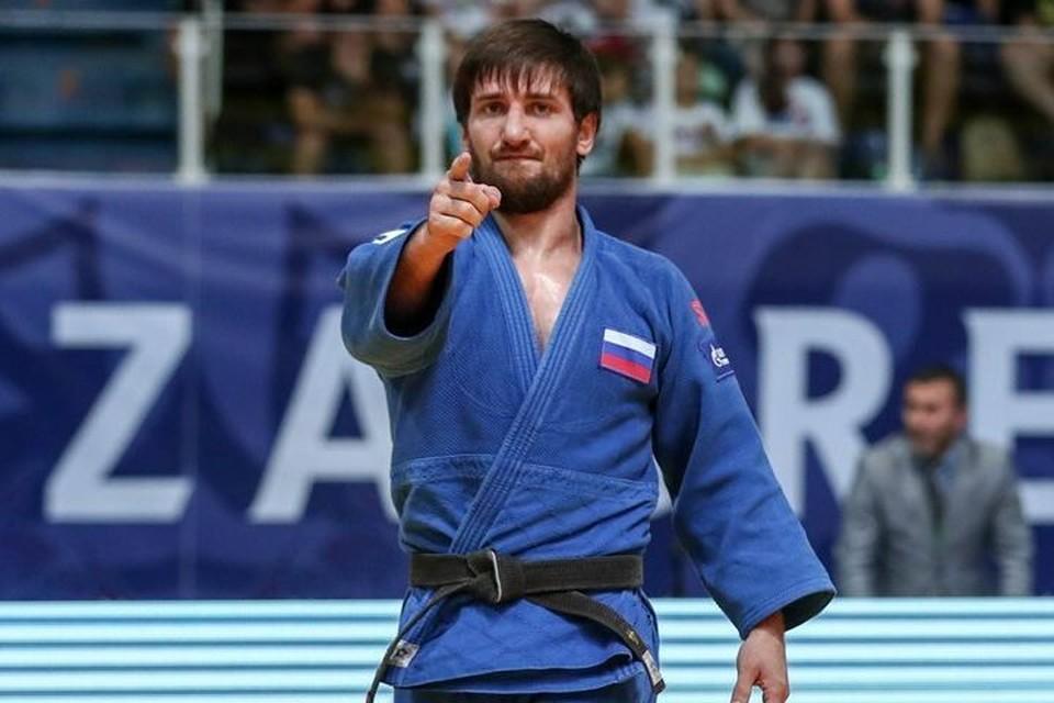 "Дзюдоист Муса Могушков. Фото: ""Тюмень-дзюдо"""