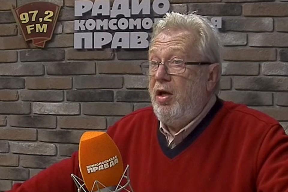 Игорь Чубайс покинул студию прямого эфира.