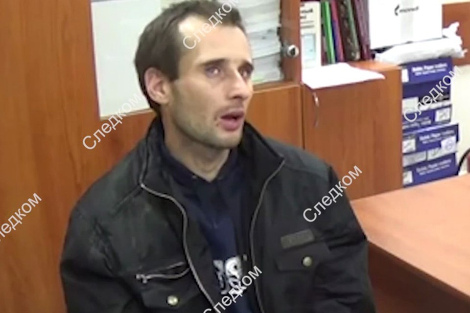 Михаил Туватин на допросе. Фото: СК РФ