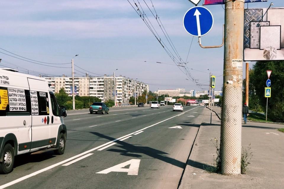 Специальные полосы для общественного транспорта появились на трех улицах. Фото: Челябинский урбанист/vk.com