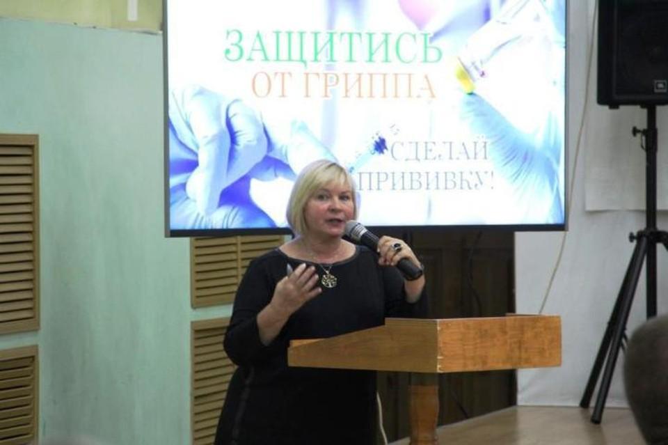 Заведующая лабораторией клинической эпидемиологии ФГБУ «НИИ пульмонологии» ФМБА России Татьяна Рычкова