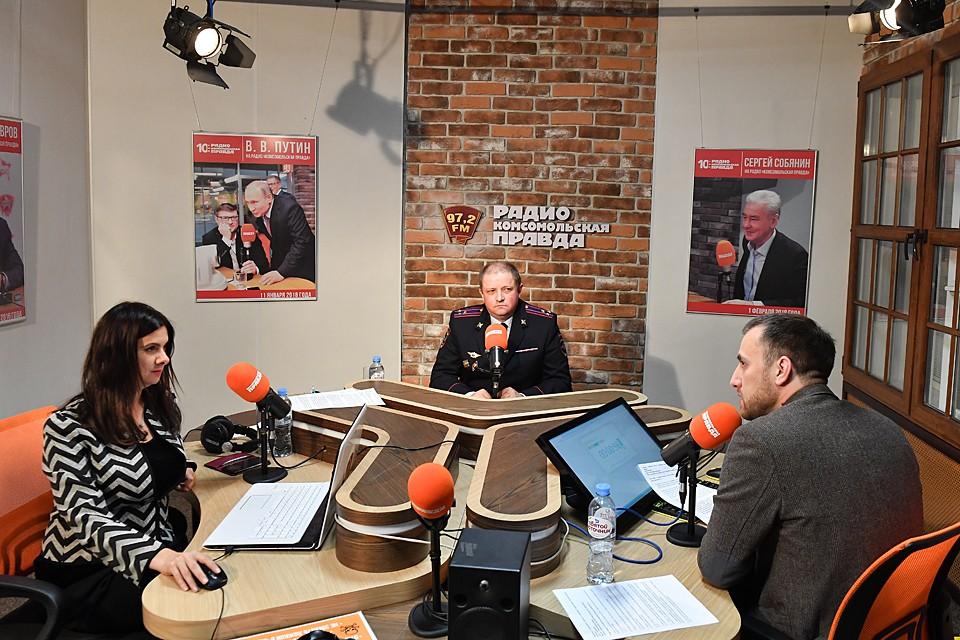 Николай Гиляков в эфире программы «Россия в движении»