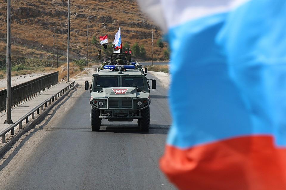 Матерное послание русским на базе США в Сирии