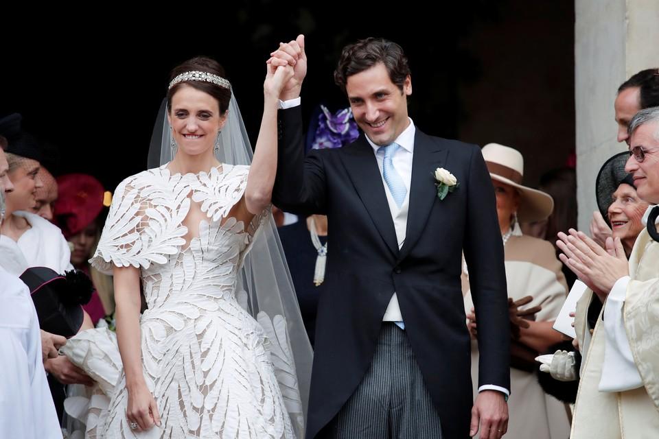 Потомки Наполеона и его второй жены сыграли свадьбу в Париже