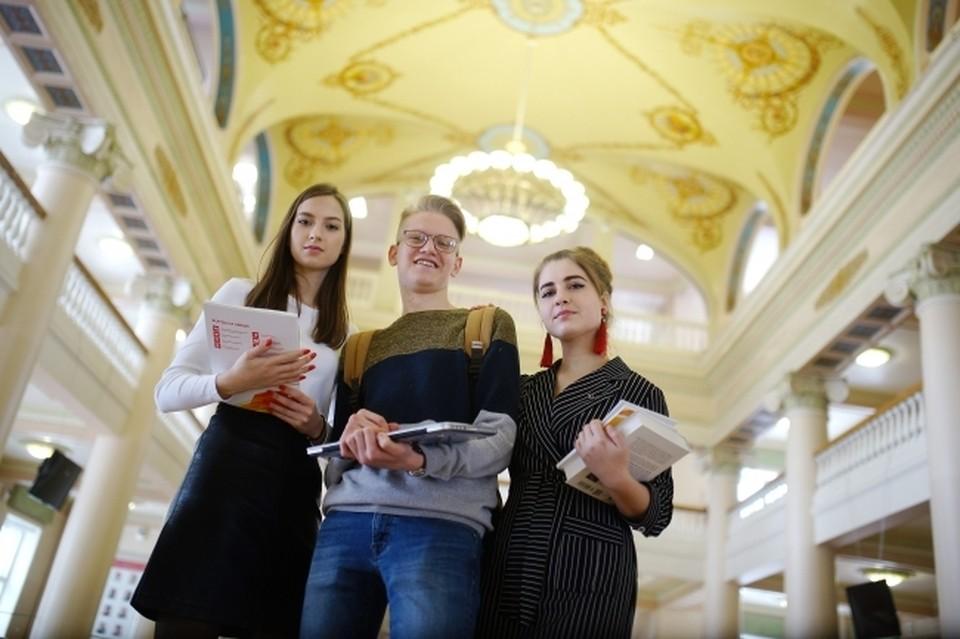 В прошлом сезоне 58 челябинских студентов получили дипломы олимпиады. Фото: Алексей БУЛАТОВ.