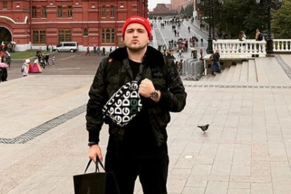 Эрик Гафаров лишился дорогой сумки Фото: www.instagram.com/ericgafarov