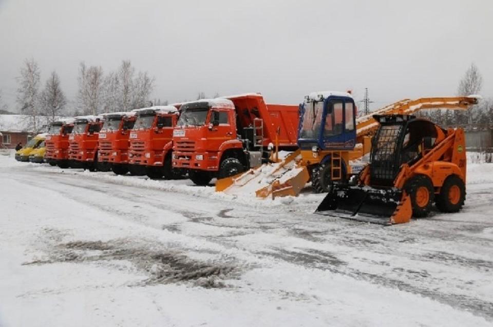 Коммунальщики Когалыма готовы к снегопадам. Фото с сайта администрации города Когалым