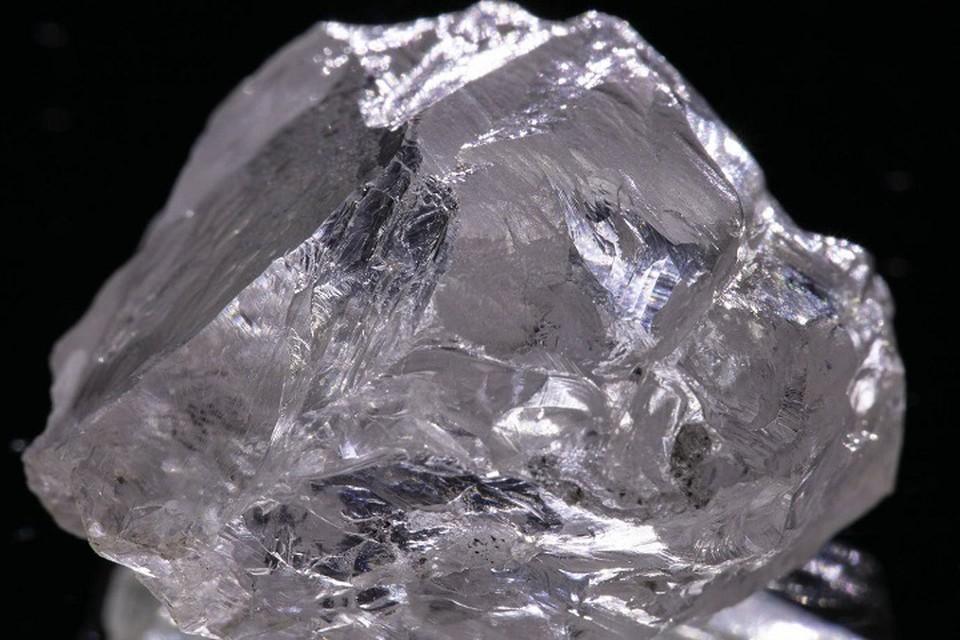 Уникальный алмаз, кристальной чистоты нашли в Архангельской области / Фото: пресс-служба АО «АГД ДАЙМОНДС»