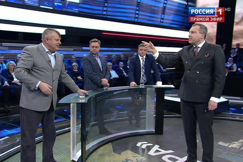 Скандал разгорелся во время обсуждения ситуации в Донбассе