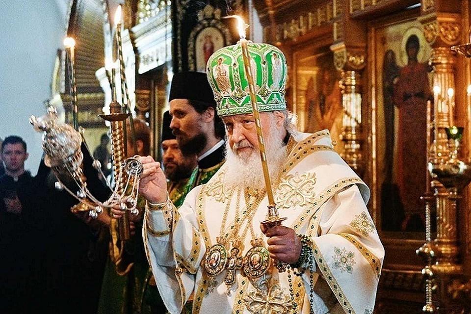 Патриарх Кирилл возглавит крестный ход. Фото: официальный сайт Русской Православной церкви
