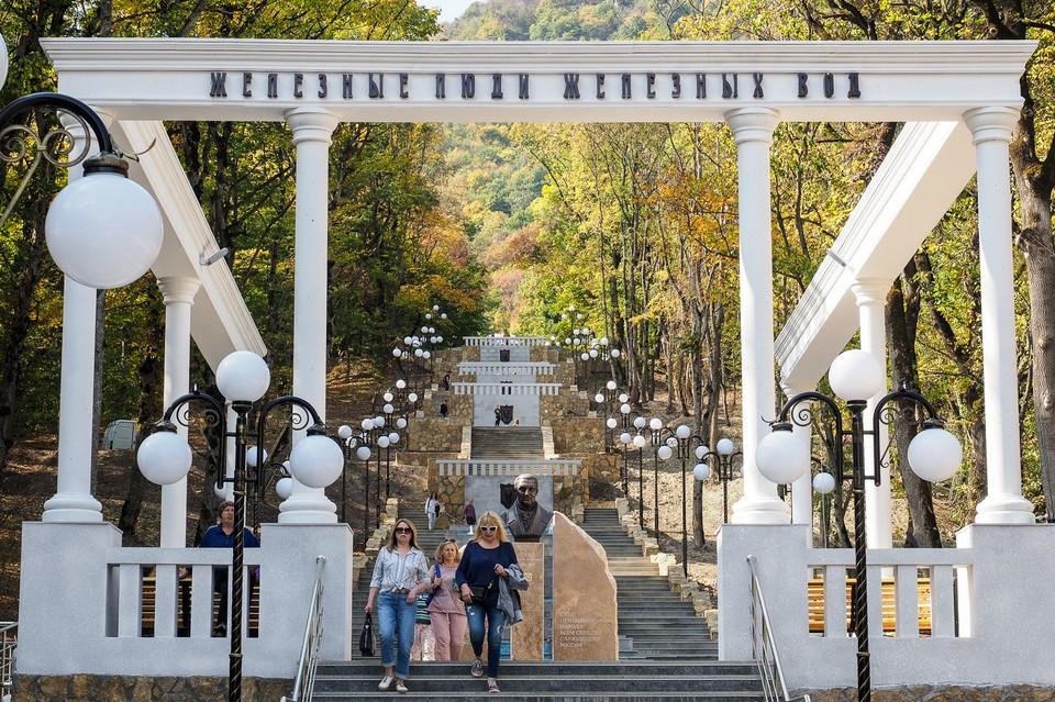 На Кавминводах построили Каскадную лестницу и соединили два века. Фото: Сайт губернатора Ставропольского края