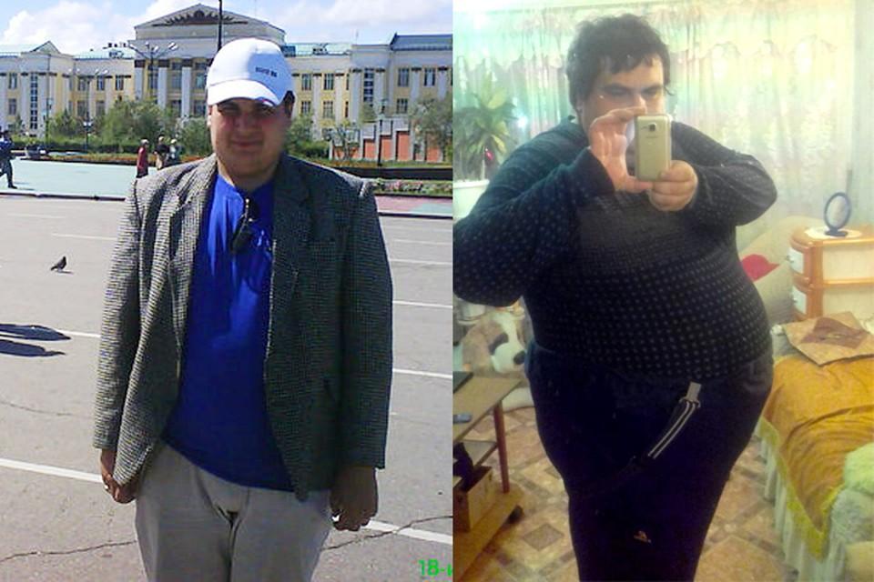 Алексей Русин ДО и ПОСЛЕ. Фото: личный архив Алексея Русина.