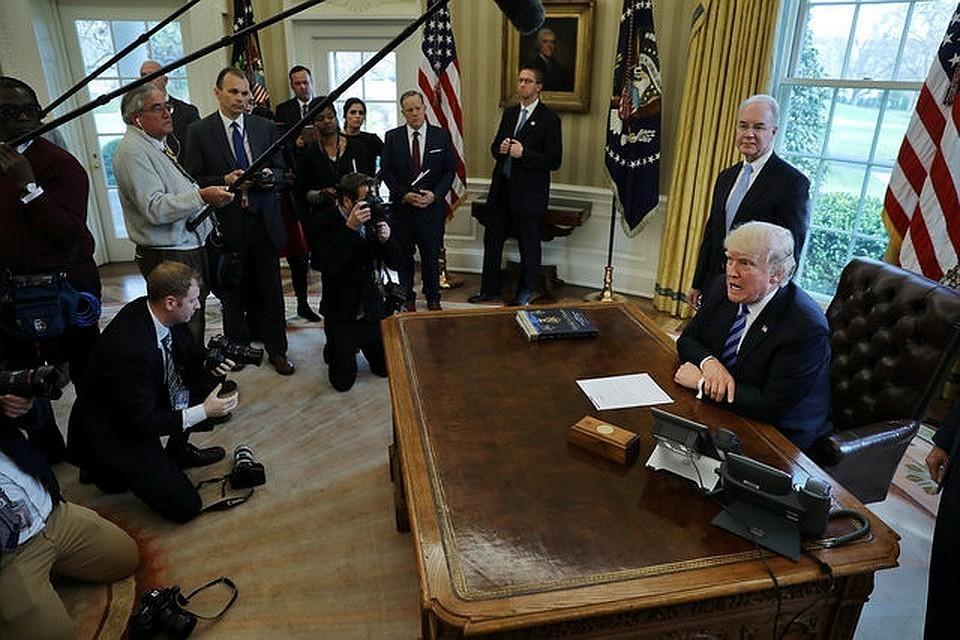 Палата представителей США впервые проголосует в четверг по резолюции об импичменте Трампа